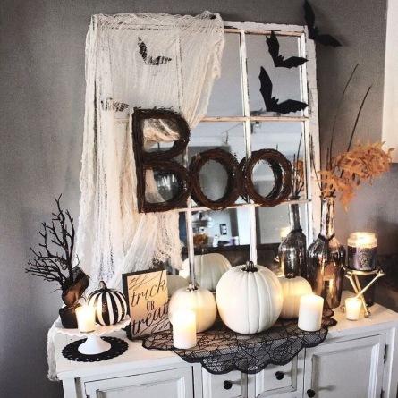 decorando a casa para o halloween