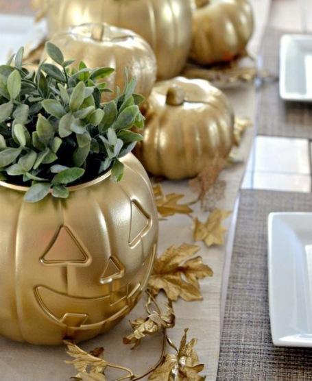 abóboras para decoração de halloween